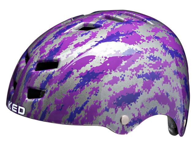 KED Control K-Star Helmet Kids Violett
